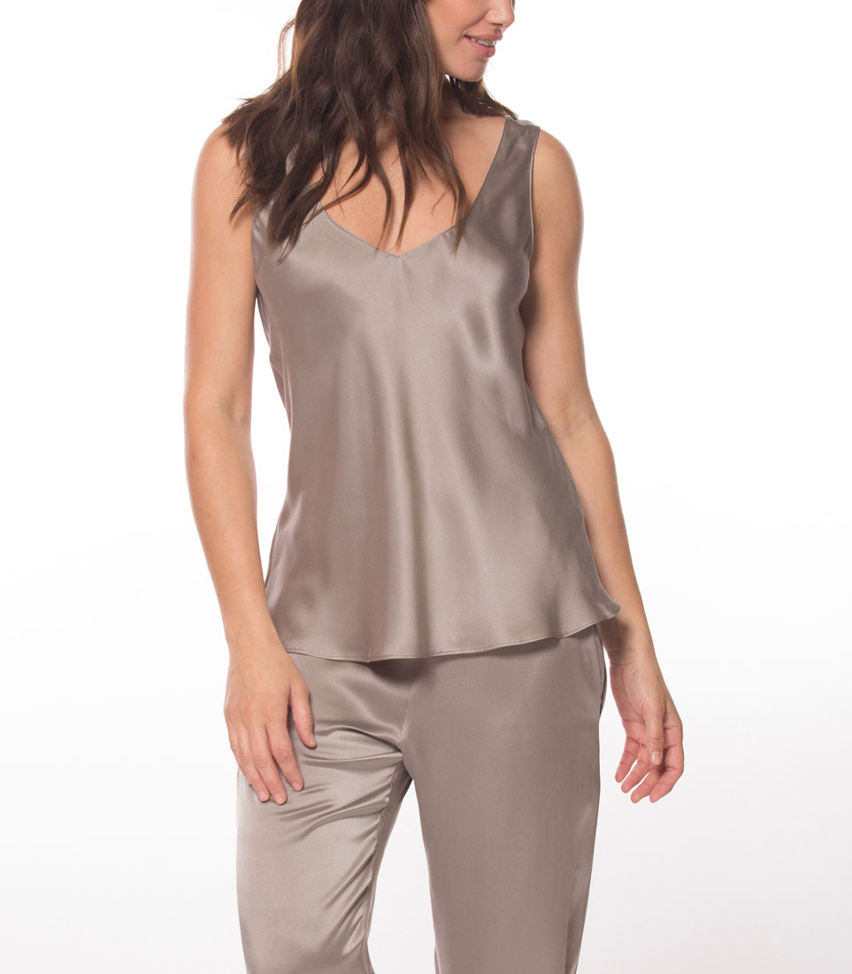silk cami, silk loungewear, made in canada, silk lounge pants, beautiful loungewear, silk loungewear