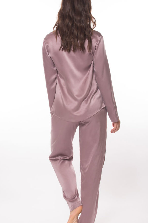 Sandwashed Silk Pajamas