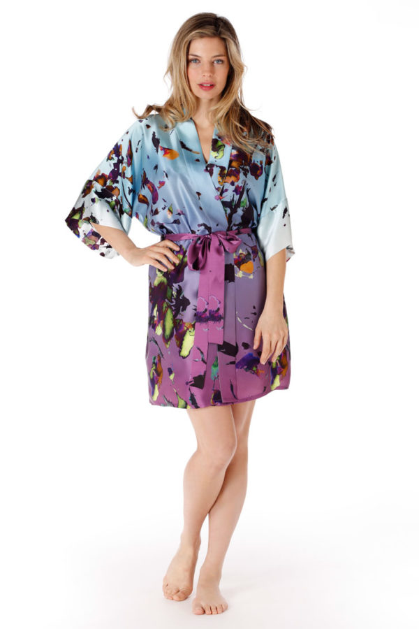 Kaleidoscope Short Robe
