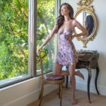 Pink Silk Lingerie: The Arabella Collection