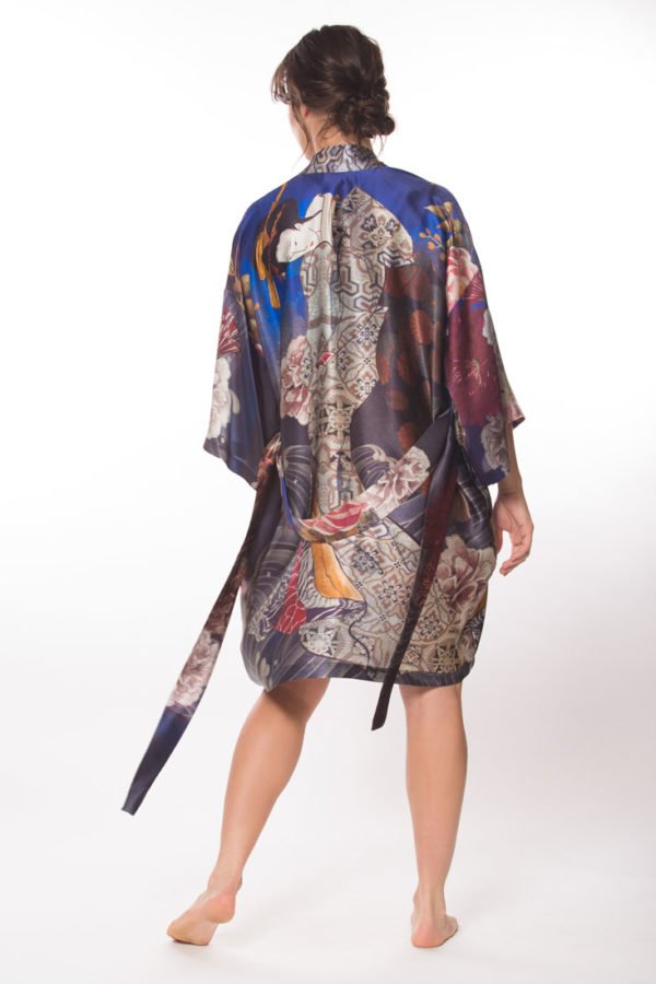 Geisha Short Robe