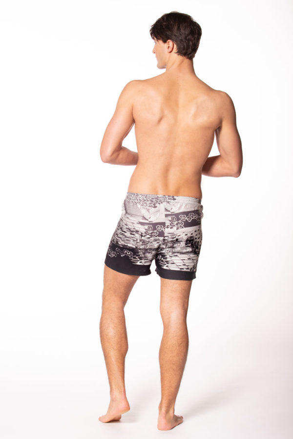 Morton Tranquility Silk Boxer Shorts