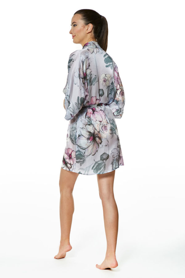 Steel Magnolia Short Robe